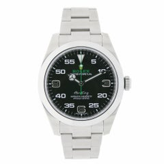 Rolex Air-King Stainless Steel Black Dial Watch 116900