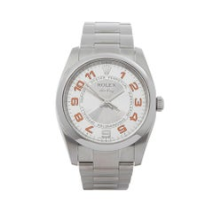 Rolex Air King Stainless Steel Unisex 114200
