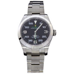 Rolex Air King Stainless Steel Watch