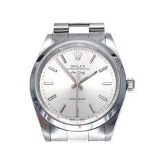 Rolex Air-King Steel Men's Wristwatch
