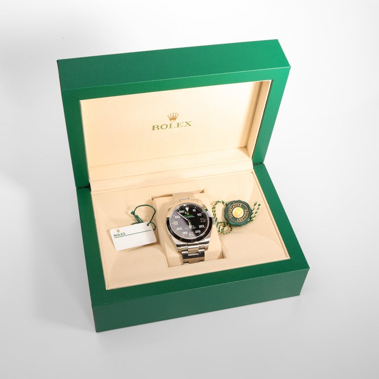 Rolex Air King with Box, circa 2019 For Sale 8