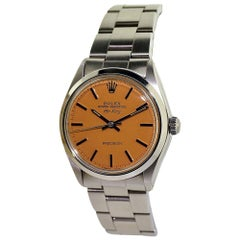 Rolex Air King with Custom Orange Dial, circa 1970s