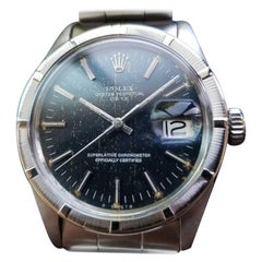 Rolex All Original Men's Oyster Perpetual Date 1501 Automatic, circa 1971 MS133