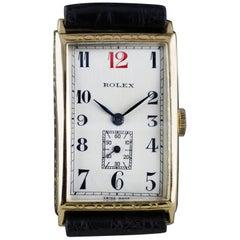 Rolex Art Deco, Gold, 1927