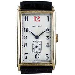 Rolex Art Deco, Gold, 1927