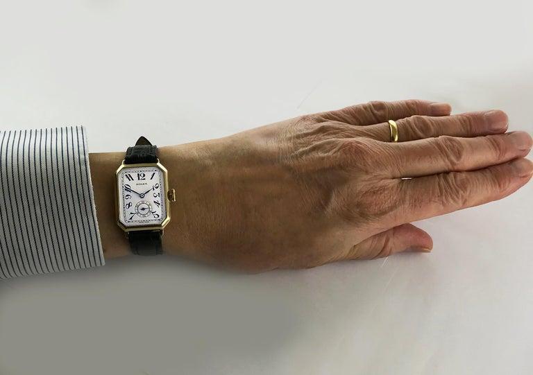 Rolex Art Deco Gold Wristwatch, 1933 For Sale 7