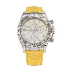 """Rolex """"BEACH"""" Daytona White Gold '116519'"""