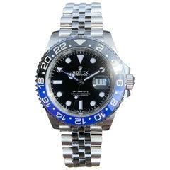 Rolex Black Gmt-Master Ii 126710blnr Watch