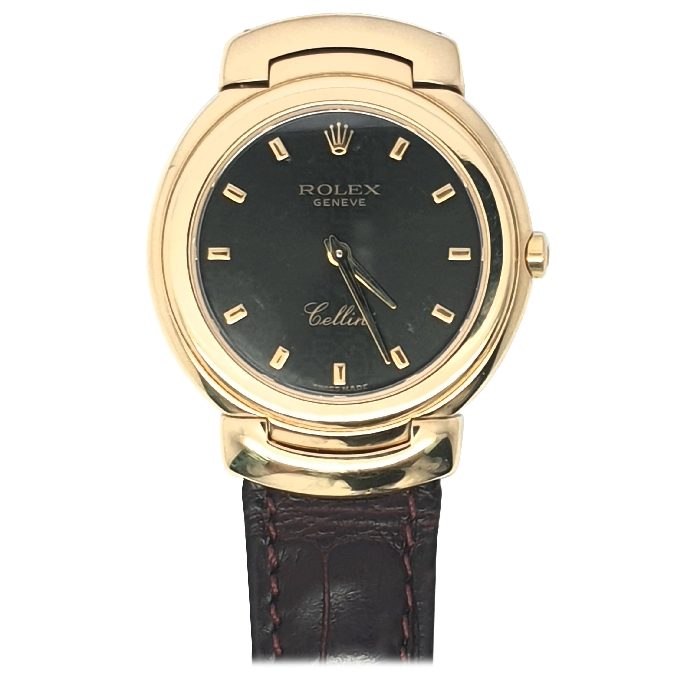 Rolex Cellini 18 Karat Gold Unisex Watch
