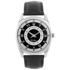 Rolex Cellini 18 Karat White Gold Men's Watch Black Dial 4243