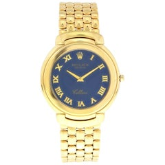 Rolex Cellini 18 Karat Yellow Gold 6623 Men's Watch