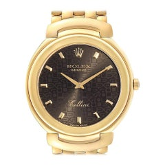 Rolex Cellini 18 Karat Yellow Gold Jubilee Anniversary Dial Men's Watch 6623
