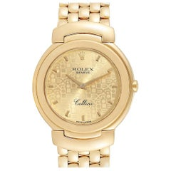 Rolex Cellini 18 Karat Yellow Gold Ladies Watch 6622