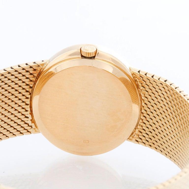 Women's Rolex Cellini 18 Karat Yellow Gold Ladies Dress Watch For Sale