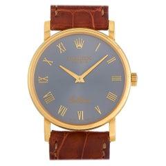 Rolex Cellini 18K Yellow Gold Slate Watch 5115/8