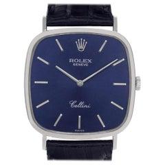 Rolex Cellini 411, Certified and Warranty