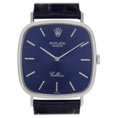 Rolex Cellini 4114, Black Dial, Certified and Warranty