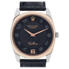 Rolex Cellini 4233/9, White Dial, Certified and Warranty