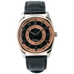 Rolex Cellini 4243, Black Dial, Certified and Warranty