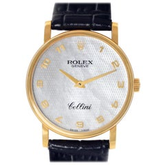 Rolex Cellini 5115, Case, Certified and Warranty