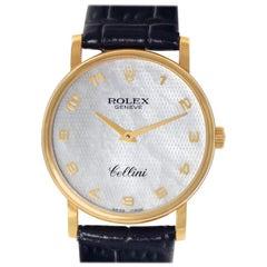 Rolex Cellini 5115, Certified and Warranty