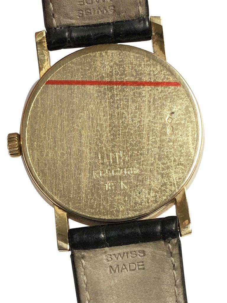 Women's or Men's Rolex Cellini 5115 Yellow Gold Mechanical Wristwatch