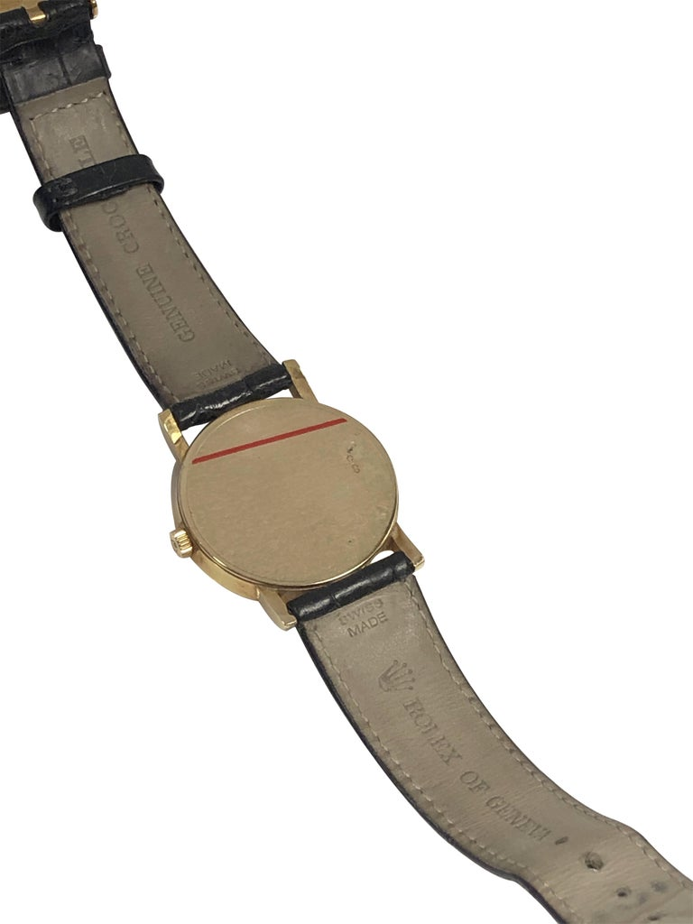 Rolex Cellini 5115 Yellow Gold Mechanical Wristwatch 1