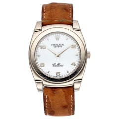 Rolex Cellini 5330; Black Dial, Certified and Warranty