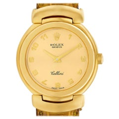 Rolex Cellini 6621, Gold Dial, Certified and Warranty