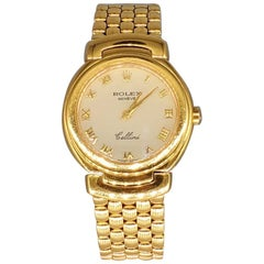 Rolex Cellini 6621 Women's 18 Karat Gold Watch