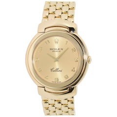 Rolex Cellini 6622 Lady 18 Karat Yellow Gold, Quartz, Wristwatch