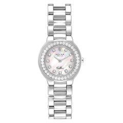 Rolex Cellini Cellissima 18 Karat White Gold Diamond Ladies Watch 6661