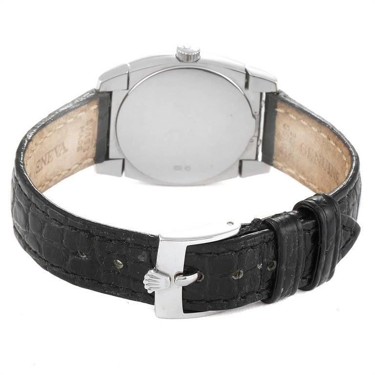 Rolex Cellini Cestello White Gold MOP Diamond Dial Ladies Watch 5310 For Sale 2