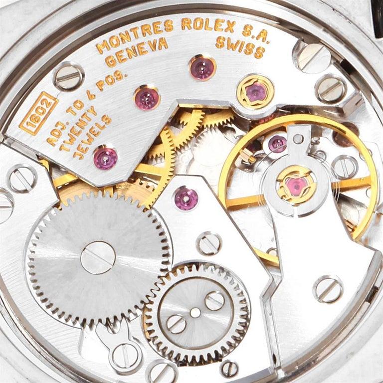 Rolex Cellini Cestello White Gold MOP Diamond Dial Ladies Watch 5310 For Sale 3