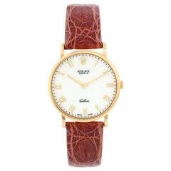 Rolex Cellini Classic 18 Karat Yellow Gold Men's Watch 5112