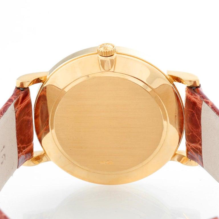Rolex Cellini Classic 18 Karat Yellow Gold Men's Watch 5112 For Sale 1
