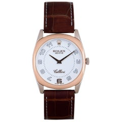Rolex Cellini Danaos White and Rose Gold 4233 Watch