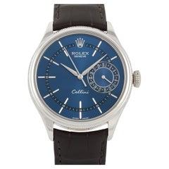 Rolex Cellini Date White Gold Watch 50519
