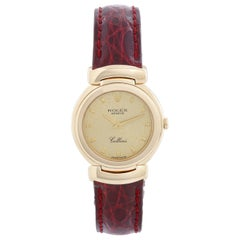 Rolex Cellini Ladies 18 Karat Yellow Gold Watch 13767