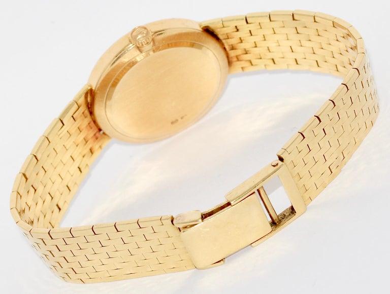 Women's Rolex Cellini Ladies Wrist Watch, 18 Karat Gold, Manual Winding For Sale