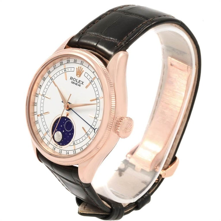 Rolex Cellini Moonphase Everose Rose Gold Automatic Men's Watch 50535 For Sale 1