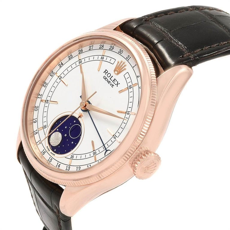 Rolex Cellini Moonphase Everose Rose Gold Automatic Men's Watch 50535 For Sale 3