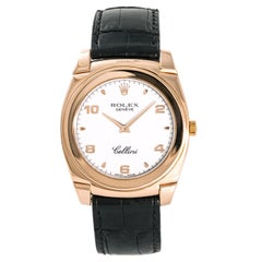 Rolex Cellini 5330, White Dial Certified Authentic