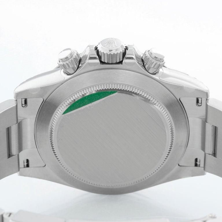 Men's Rolex Ceramic Black Dial Cosmograph Daytona 116500 LN For Sale