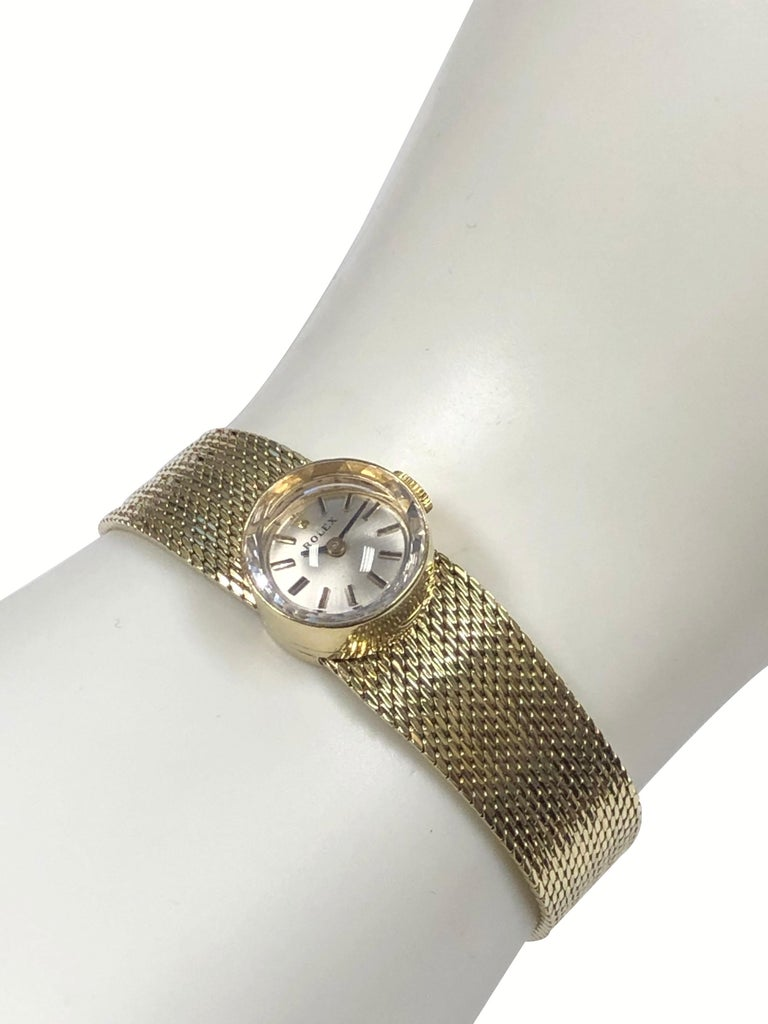 Rolex Chameleon Vintage Ladies Interchangeable Wrist Watch All Complete For Sale 10