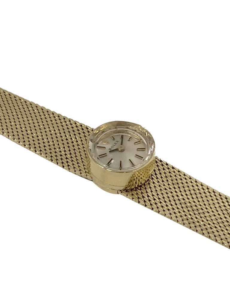 Rolex Chameleon Vintage Ladies Interchangeable Wrist Watch All Complete In Excellent Condition For Sale In Chicago, IL