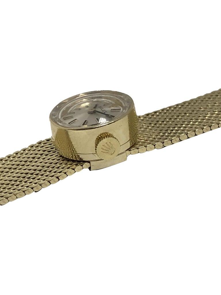 Women's Rolex Chameleon Vintage Ladies Interchangeable Wrist Watch All Complete For Sale