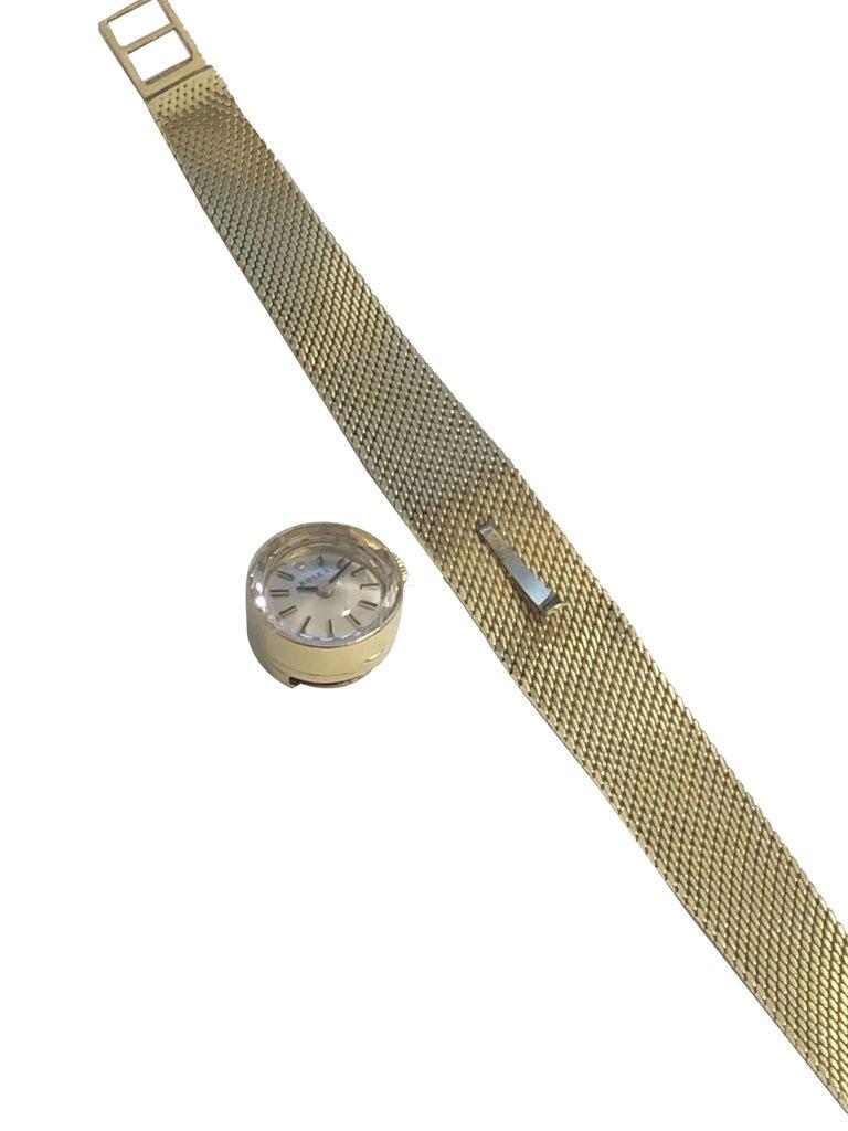 Rolex Chameleon Vintage Ladies Interchangeable Wrist Watch All Complete For Sale 2