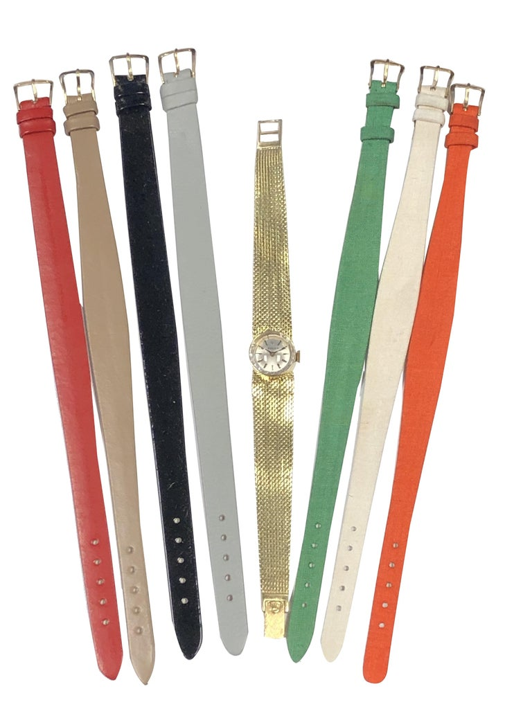 Rolex Chameleon Vintage Ladies Interchangeable Wrist Watch All Complete For Sale 5