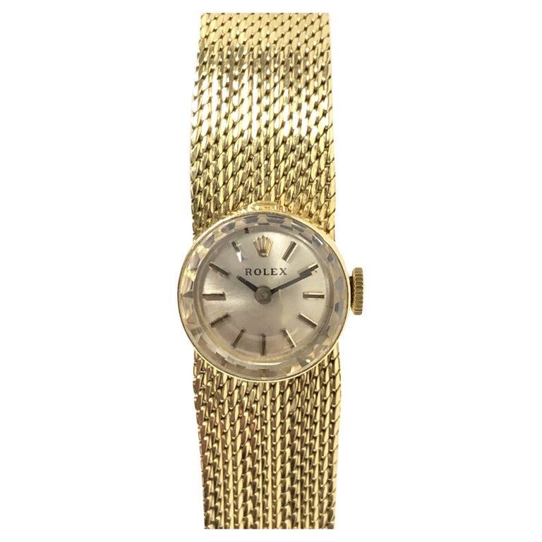 Rolex Chameleon Vintage Ladies Interchangeable Wrist Watch All Complete For Sale